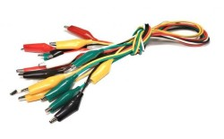 - Krokodil Kablo Paketi Büyük - 10 Adet