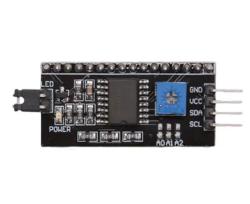 - Lcd I2C Seri Arayüz Modülü Arduino