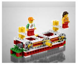 Lego Basit Makineler Seti - 9689 - Thumbnail