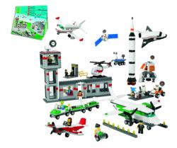 - Lego Uzay Ve Havalimanı Seti - 9335