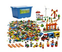 LEGO - Lego Toplum Hayatı İnşa Seti - 9389