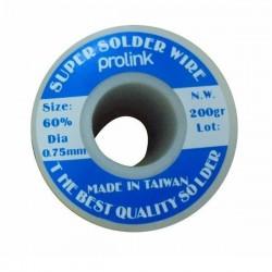 Prolink - Lehim Teli 0,75 mm 200 gr Prolink PRL-752