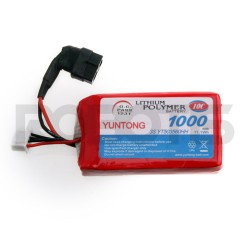 YUNTONG - ROBOTIS Lipo Batarya Seti 11.1V 1000mAh LB-011
