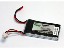 - LIPO 7,4V 1050mAh Li-Po Batarya 25C