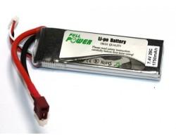 - LIPO 7,4V 1750mAh Li-Po Batarya 25C