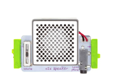 LittleBits Hoparlör Modülü (Synth Speaker)
