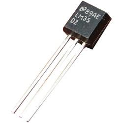 - LM35 Sıcaklık Sensörü