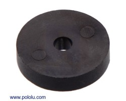 Pololu - Magnetic Encoder Disc for 20D mm Metal Gearmotors, OD 9.7 mm, ID 2.0 mm, 20 CPR (Bulk)