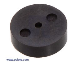 Pololu - Magnetic Encoder Disc for Micro Metal Gearmotors, OD 7.65 mm, ID 1.0 mm, 12 CPR (Bulk)