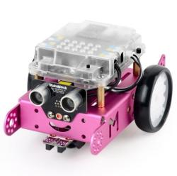 MakeBlock - MakeBlock mBot Bluetooth V1.1 Robotik Kodlama Kiti ( Pembe Renkli )