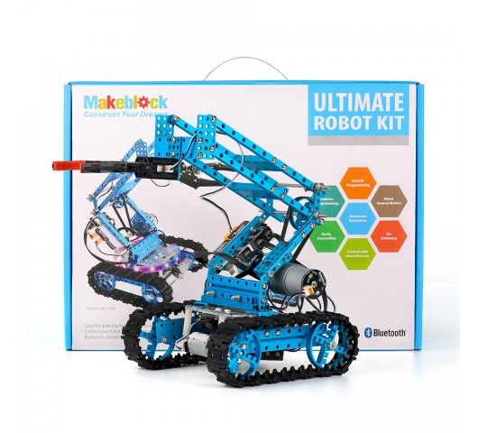 MakeBlock Ultimate Robot Kit-Blue ile ilgili görsel sonucu