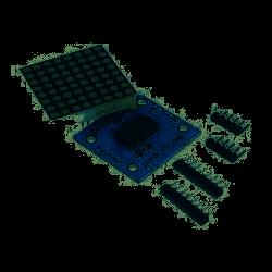 - MAX7219 - 8X8 Dot Matrix Kartı