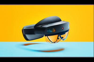 Microsoft Hololens 2 : Karma Gerçeklik ( Mixed Reality ) Gözlüğü