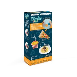 3Doodler - 3Doodler Start Mini Food Key Ring DoodleMold Kit