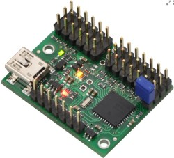 Pololu - Mini Maestro 12 Kanallı USB Servo Kontrol Cihazı (Montajlı)