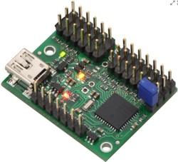 Pololu - Pololu Mini Maestro 12 Kanallı USB Servo Kontrol Kartı (Montajlı) PL-1352