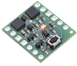 Pololu - Pololu Mini Push Butonlu Güç Anahtarı, Ters Voltaj Korumalı, LV PL-2808