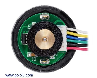 Motor with 64 CPR Encoder for 37D mm Metal Gearmotors (No Gearbox)