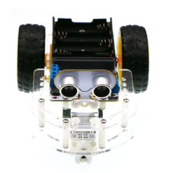 Elecfreaks - Motor:bit Acrylic Smart Car Kit (Without Microbit)