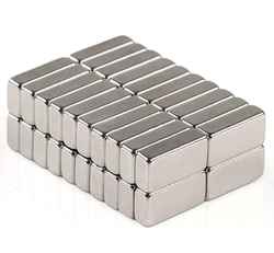 - Neodymium Mıknatıs Köşeli Boy 40mm X En 20mm X Kalınlık 10mm