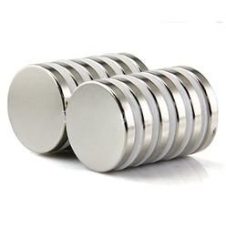 - Neodymium Mıknatıs Yuvarlak Çap 20mm Kalınlık 5mm