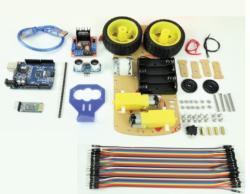 - Arduino Uno Bluetooth Robot Araba Kiti