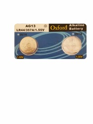 Oxford - Oxford Lr41 1.55V Pil AG13-LR44 Tekli
