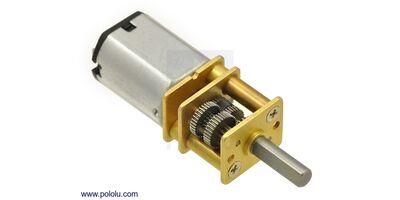 Pololu 1000:1 Micro Metal Redüktörlü DC Motor HPCB 12V 35rpm - PL-3046