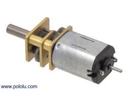 Pololu - 10:1 6V 3000rpmMikroMetalRedüktörlü MotorHP - Arkadan Mil Çıkışlı