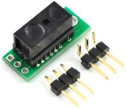 Pololu - Pololu 10cm Sharp GP2Y0D810Z0F Dijital Mesafe Sensörlü Taşıyıcı