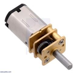 Pololu - Pololu 298:1 100RPM Yüksek Güçlü Mikro Metal Motor HPCB-6V