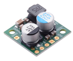- Pololu 6v 2.5A Step-Down Voltage Regulator D24V22F6