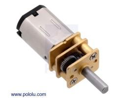 Pololu - Pololu 75:1 6V 400rpmMikroMetalRedüktörlü MotorHP