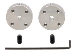 Pololu - Pololu Alüminyum Montaj Göbeği / Hub (3mm Şaft için, #2-56 Yuvalı ) PL-1079