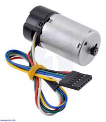 Pololu - Pololu HP 12V Motor ( 48 CPR Enkoderli, 25D Redüktörlerle Uyumlu) PL-4840