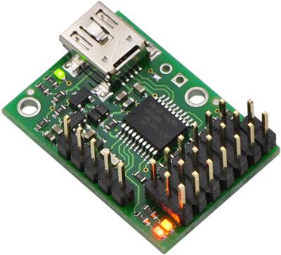 Pololu Micro Maestro 6 Kanallı USB Servo Kontrol Kartı (Montajlı) PL-1350