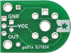 Pololu - Pololu MQ Gaz Sensörleri için Taşıyıcı ( Carrier ) Kartı PL-1479