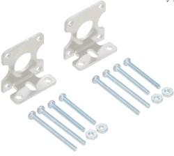 Pololu - Pololu Plastik Motorlar için Alüminyum Baskılı L Montaj Aparatı Çifti