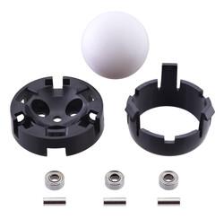 Pololu - Sarhoş Teker - 1 İnç Plastik Top, Plastik Yatak, Metal Rulman PL-2692