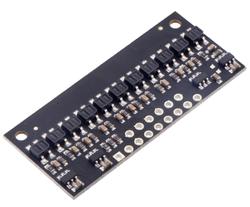 Pololu - Pololu QTR-HD-11RC Reflektans ( Yansıma ) Sensör Dizisi: 11-Kanal, 4mm Pitch, RC Çıkış