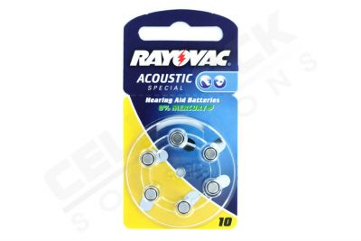 Rayovac Acoustic Pil - 10