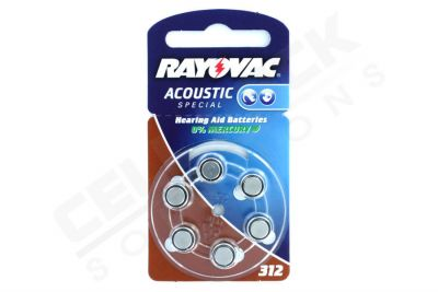 Rayovac Acoustic Pil - 312