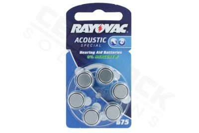Rayovac Acoustic Pil - 675