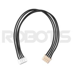 Robotis - Robot Kablosu - X4P ( Dönüştürülebilir ) 180mm ( 10 Adet )