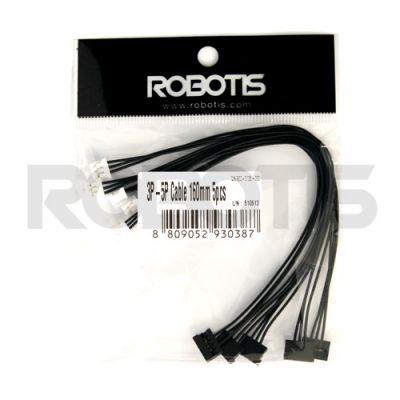 Robotis - Robot Kablosu-3P-5P 160mm (10 adet)