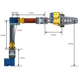 Robotis OpenMANIPULATOR-X (RM-X52-TNM) - Thumbnail