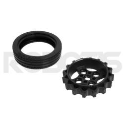 Robotis - ROBOTIS TB3 Tekerlek/Lastik ( Wheel/Tire ) Set-ISW