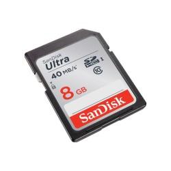 - Sandisk Ultra SDHC 8GB (40MB/s-266X)