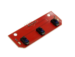 - Sensör - 3'lü TCRT5000 Kızılötesi Çizgi İzleme
