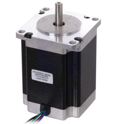NEMA 23 Step Motor: Bipolar, 200 Adım / Devir, 3.2V, 2.8 A/Faz, PL-1478
